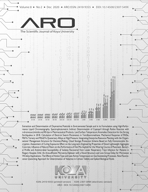 ARO Journal: Volume 8, No. 2 (2020)